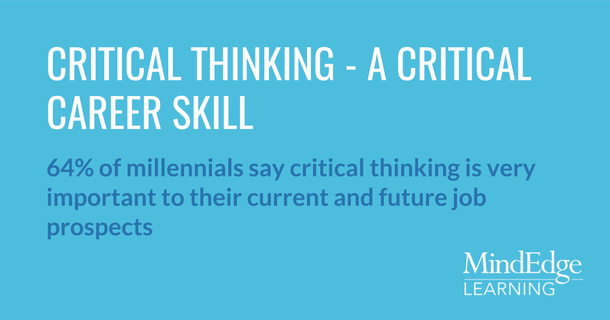 what is the importance of critical thinking skills education essay Develop your critical thinking skills perhaps of the critical importance of good critical thinking for students at all stages of education.